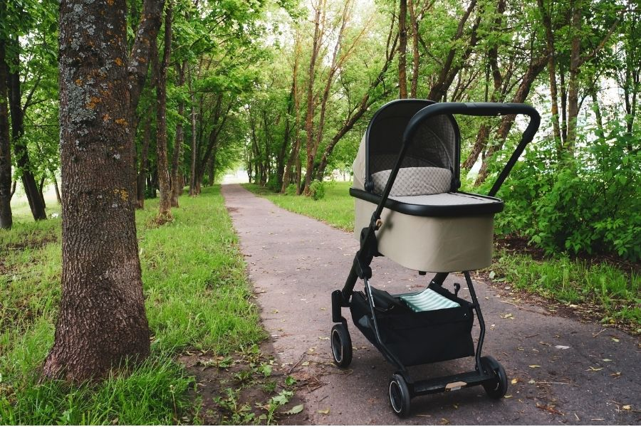 Bassinet Baby Strollers Let Your Baby Sleep When You Walk