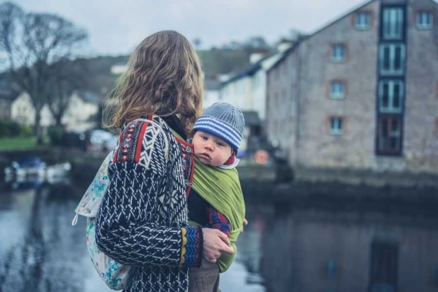 Baby Sling Carriers For Wrapping Your Baby With You
