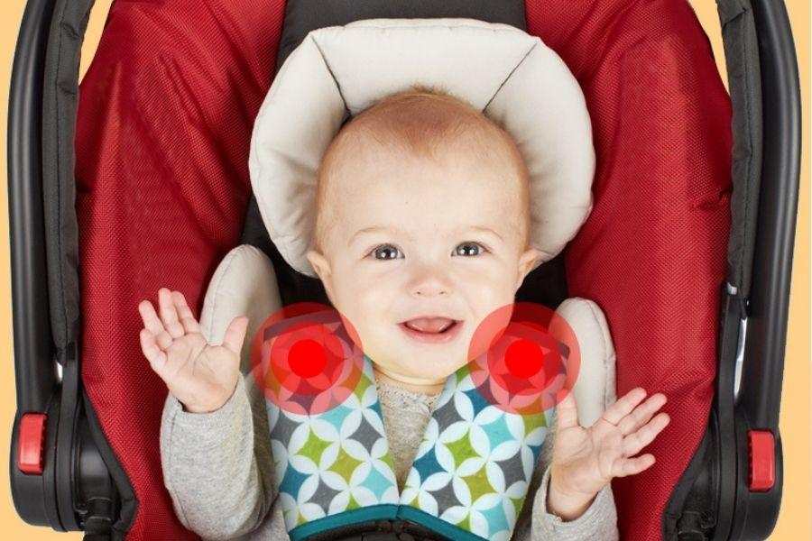 Infant Car Seat Strap Covers to Safeguard the Soft Skin of Your Baby
