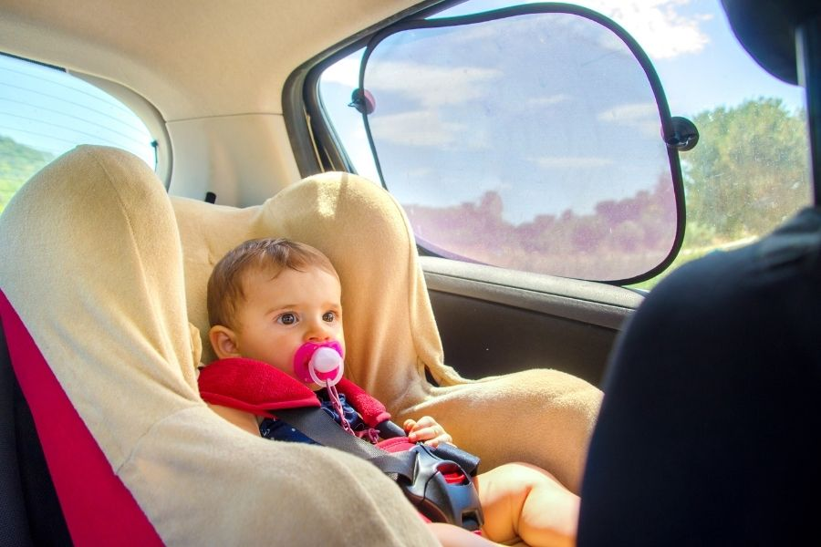 Infant Car Seat Window Shades – Are They Essential Investments